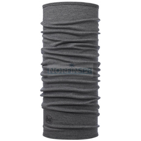 Бандана Buff Midweight Merino Wool Light Grey Melange