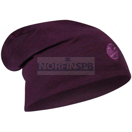 Шапка Buff Heavyweight Merino Wool Hat Purplish Multi Stripes
