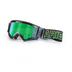 Маска кроссовая Ariete MUDMAX черная зеркальная линза