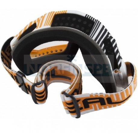 Кроссовая маска O`Neal B-Flex ETR бело-оранжевая