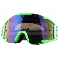 Кроссовая маска O`Neal B2 THREESIXZERO зеленая/радиум