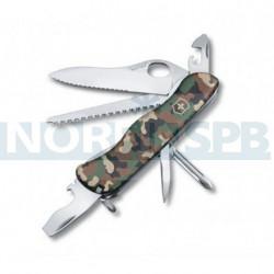 Нож Victorinox Trailmaster (0.8463.MW94), 111мм, 12 ф., камуфляж