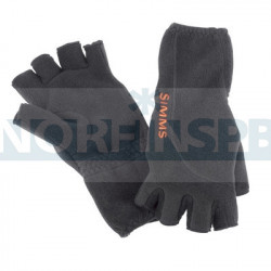 Перчатки Simms Headwaters Half Finger Glove (Черные)