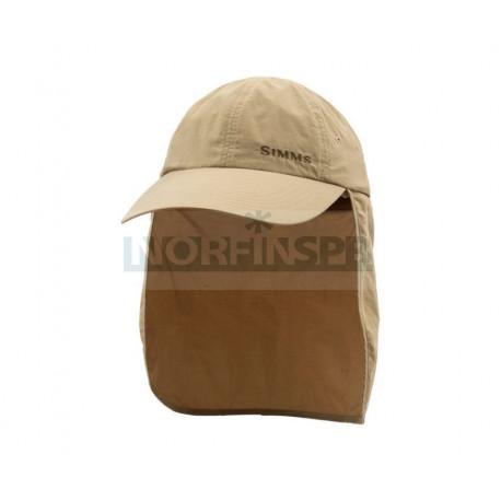 Кепка Simms BugStopper SunShield Cap (Cork)