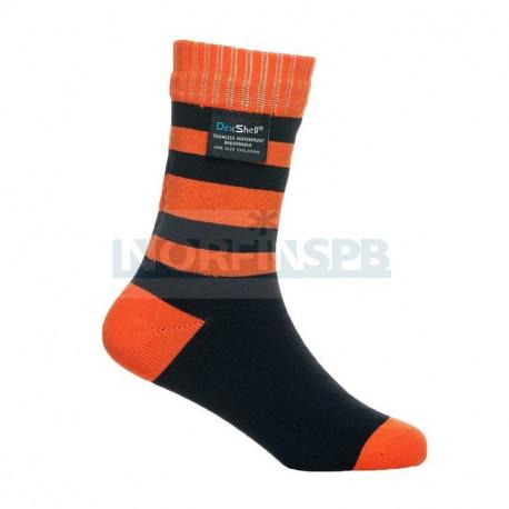 Носки детские водонепроницаемые Dexshell оранжевые DS546