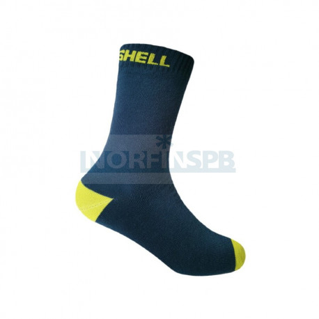 Носки детские водонепроницаемые Dexshell черный/желтый DS543NL