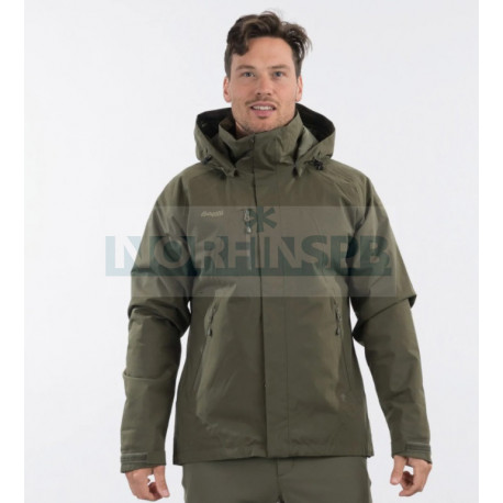 Куртка BERGANS Flya Ins Jkt, Dk GreenMud