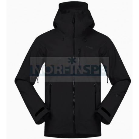 Куртка BERGANS Stranda Ins Hybrid Jkt, Black/SolidCharcoal