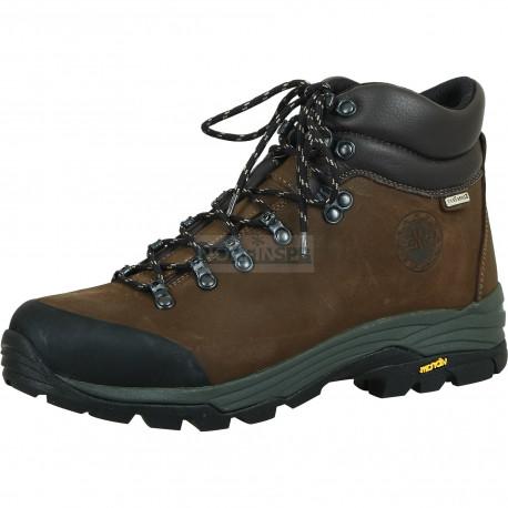 Мужские ботинки Lomer TONALE PRO STX ANF. CAFFE'/BLACK (темно-коричневые)