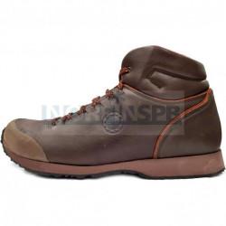 Мужские ботинки Lomer CONERO MID ESPRESSO/REDSKIN (темно-коричневые)