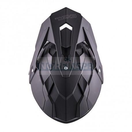 Шлем кроссовый со стеклом O'NEAL Sierra FLAT , термопластик ABS, мат., пинлок в комплекте, съемная подкладка
