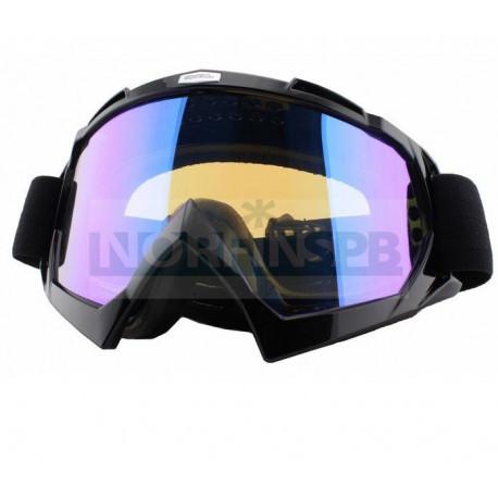 Кроссовая маска O`Neal B-Flex LAUNCH черная радиум