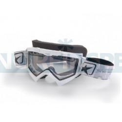 Маска снегоходная Ariete Adrenaline snowmobile белая