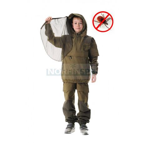 Детский костюм Novatex Элит Барьер, смесовая, хаки