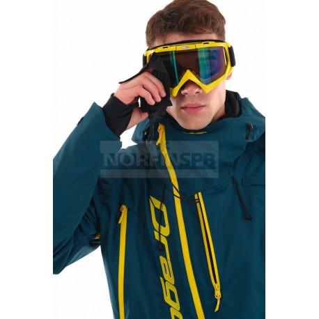 Комбинезон Dragonfly утепленный Gravity MONO Man Dark-Ocean-Yellow