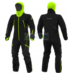 Комбинезон утепленный Dragonfly Extreme 2.0 Man Black-Yellow-Green Fluo