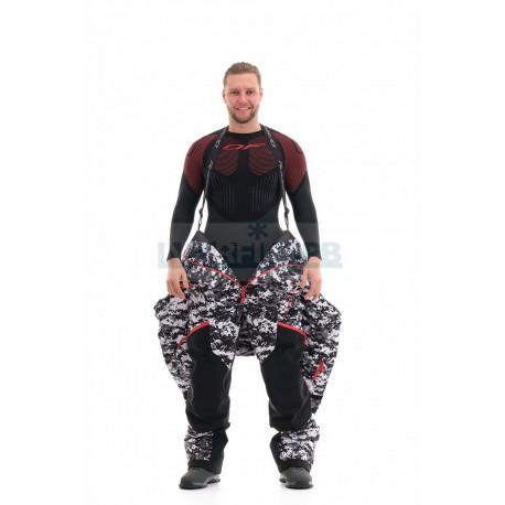 Комбинезон Dragonfly Extreme Man Camo-Black утепленный