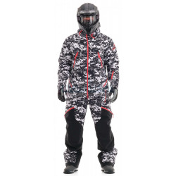 Комбинезон Dragonfly Extreme Man Camo-Black утепленный