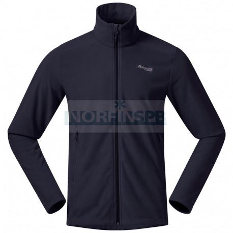 Флисовая куртка BERGANS Finnsnes Fleece Black