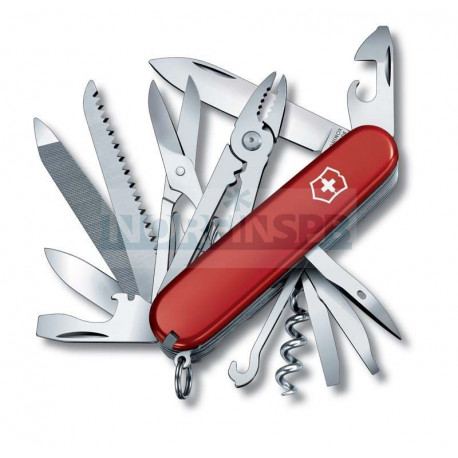 Нож Victorinox Handyman (1.3773), 91мм, 24ф., красный