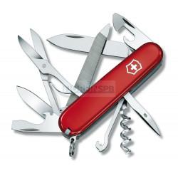 Нож Victorinox Mountaineer (1.3743), 91мм, 18ф., красный