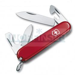 Нож Victorinox Recruit (0.2503), 84мм, 10 ф., красный