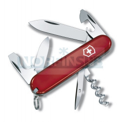 Нож Victorinox Tourist (0.3603), 84мм, 12 ф., красный