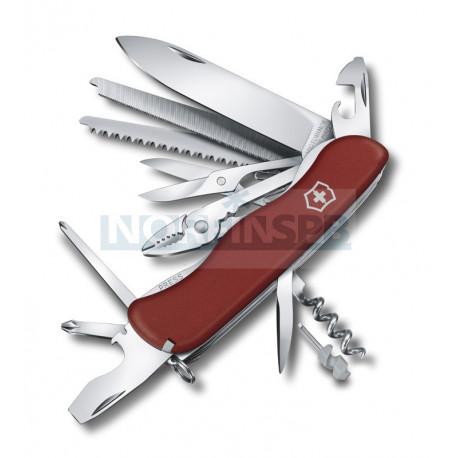 Нож Victorinox Work Champ (0.8564), 111мм, 21 ф., красный