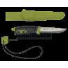 Нож Morakniv Spark Green, нержавеющая сталь