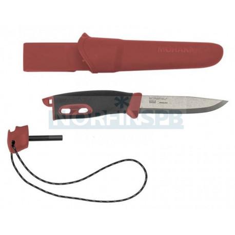 Нож Morakniv Spark Red, нержавеющая сталь
