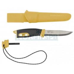 Нож Morakniv Spark Yellow, нержавеющая сталь