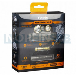 Набор Fenix HM65R LED Headlight+E01 V2.0