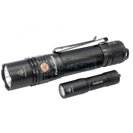 Набор Fenix PD36R LED Flashlight+E01 V2.0
