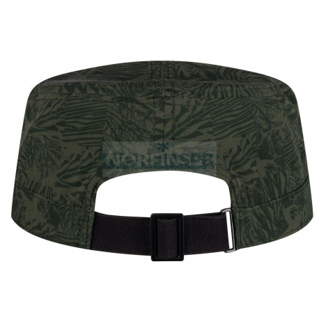 Кепка Buff Military Cap Checkboard Moss Green