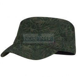 Кепка Buff Military Cap Checkboard Moss Green