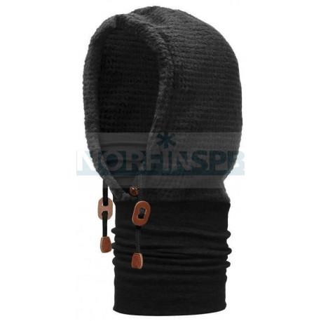 Капюшон Buff Polar Thermal Hoodie Solid Black