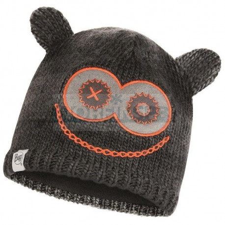 Детская шапка Buff Knitted & Fleece Hat Monster Jolly Black
