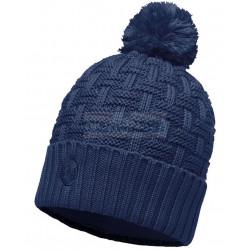 Шапка Buff Knitted & Fleece Hat Airon Dark Denim