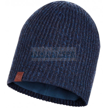 Шапка Buff Knitted & Fleece Hat Lyne Night Blue