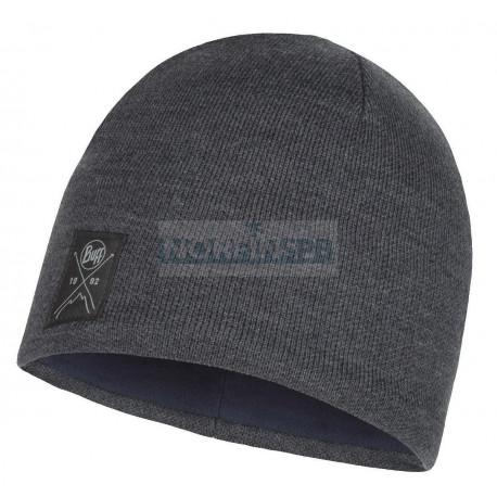Шапка Buff Knitted & Fleece Hat Solid Grey