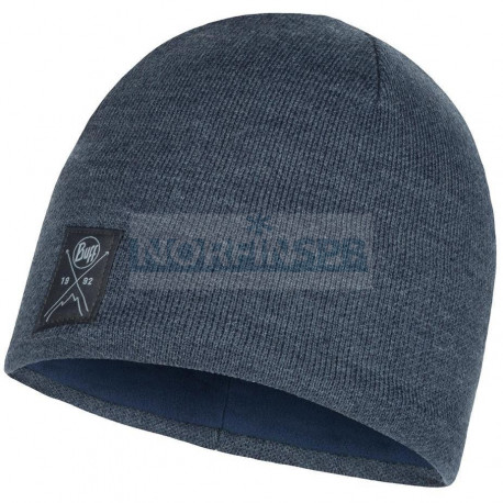 Шапка Buff Knitted & Fleece Hat Solid Navy