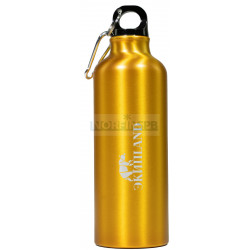 Фирменная бутылка с логотипом EkipLand (золотая)