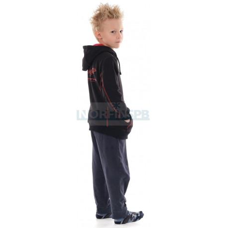 Толстовка с принтом Dragonfly Chain Детская Black