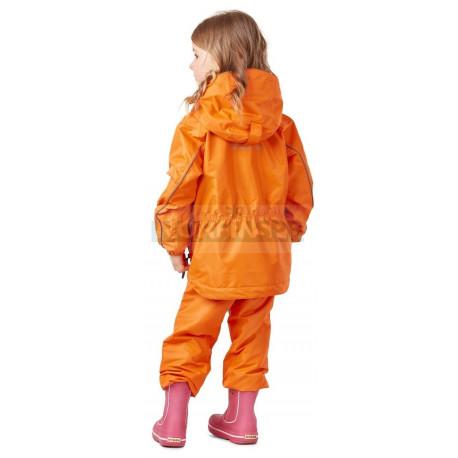 Детский комплект дождевой (куртка, брюки) Dragonfly EVO Kids ORANGE (мембрана)