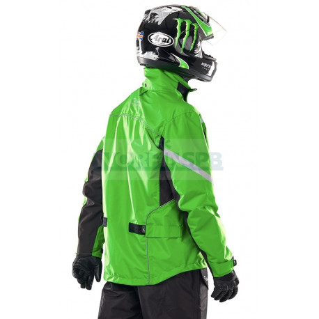 Куртка - дождевик Dragonfly EVO GREEN (мембрана)