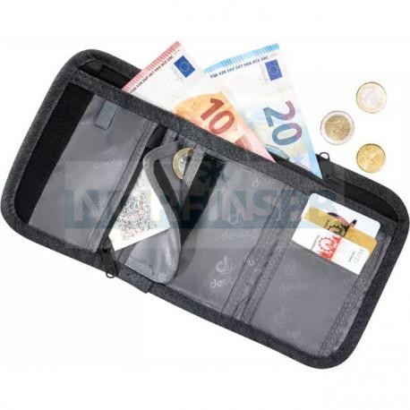 Кошелек Deuter 2021 Travel Wallet Black
