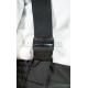Женский зимний полукомбинезон Brodeks KW 405, черный
