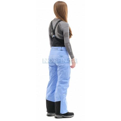 Штаны горнолыжные утепленные Dragonfly SKI Premium WOMAN Gray-Blue
