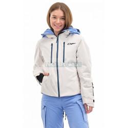 Куртка горнолыжная утепленная Dragonfly SKI Premium WOMAN Gray-Blue