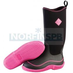 Cапоги Muck Boot Womens Hale Camo, черный/розовый